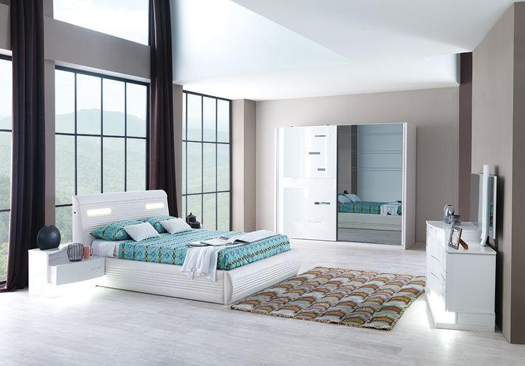 Yatak Odası Modelleri Mahir Mobilya Yatak OdasıElbise Dolabı & Komodinler