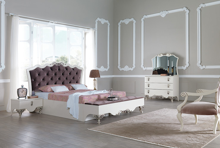 Avangart Yatak Modelleri Mahir Mobilya Yatak OdasıYataklar & Yatak Başları
