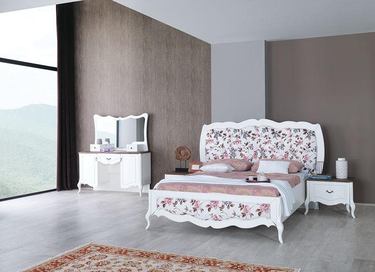 Rustik country yatak odası modelleri Mahir Mobilya Yatak OdasıYataklar & Yatak Başları