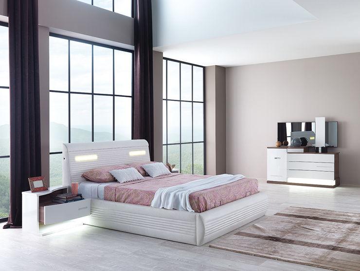Modern yatak takımı Mahir Mobilya Yatak OdasıYataklar & Yatak Başları