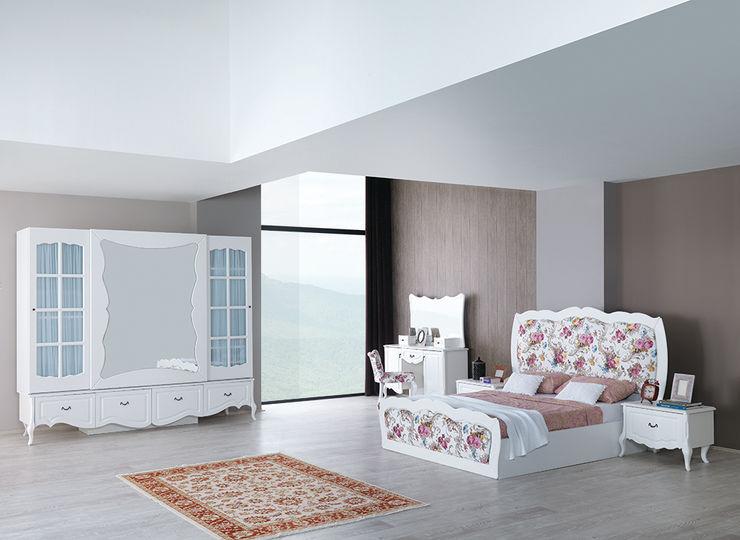 country mobilya yatak odası Mahir Mobilya Yatak OdasıYataklar & Yatak Başları