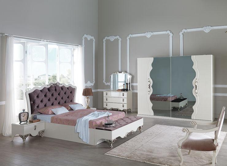 Avangart Yatak Odası Mahir Mobilya Yatak OdasıElbise Dolabı & Komodinler