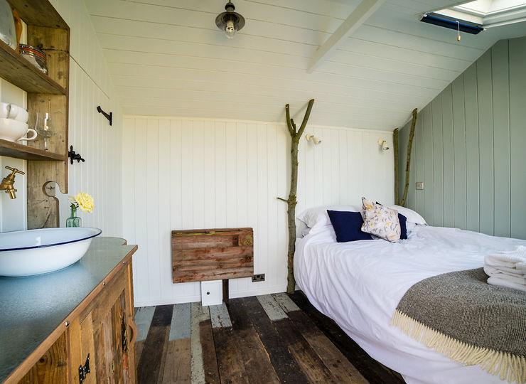 Huts Plankbridge 臥室
