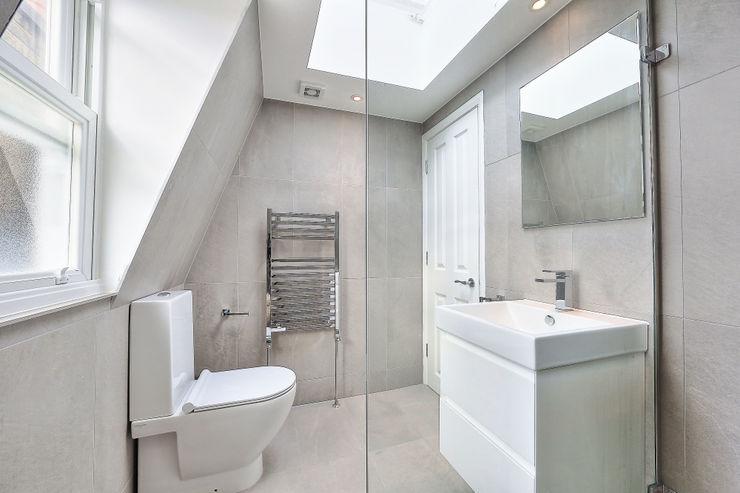 l-shaped loft conversion wimbledon homify Ванна кімната
