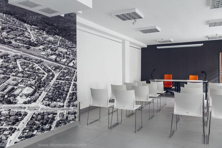 Sikora Wnetrza Palais des congrès minimalistes