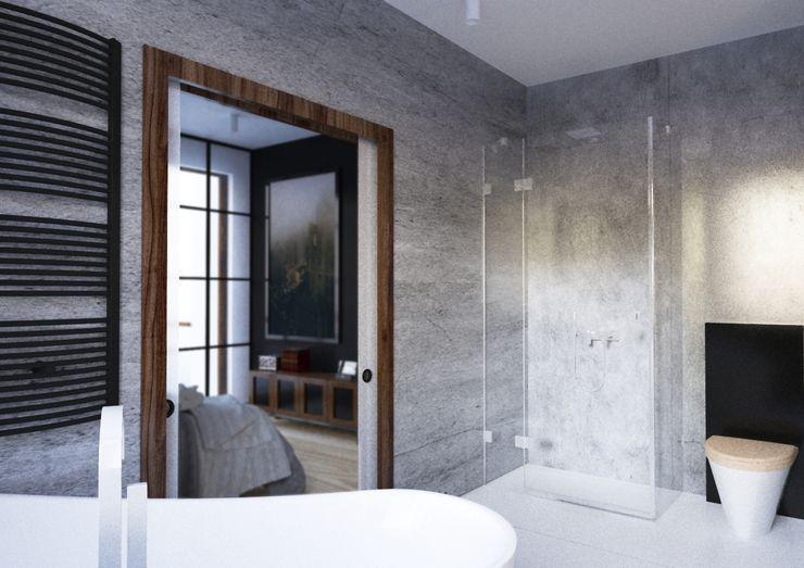 Sikora Wnetrza Chambre minimaliste