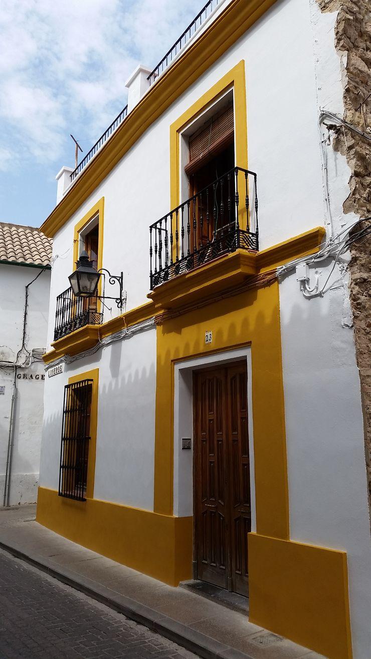 Estado rehabilitado. Fachada Calle Lineros Mohedano Estudio de Arquitectura S.L.P.