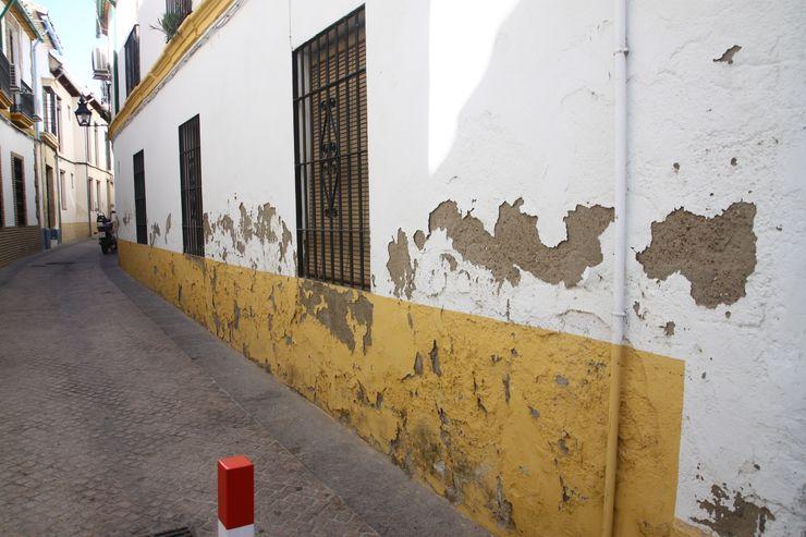 Fachada inicial. Calle Gragea Mohedano Estudio de Arquitectura S.L.P.