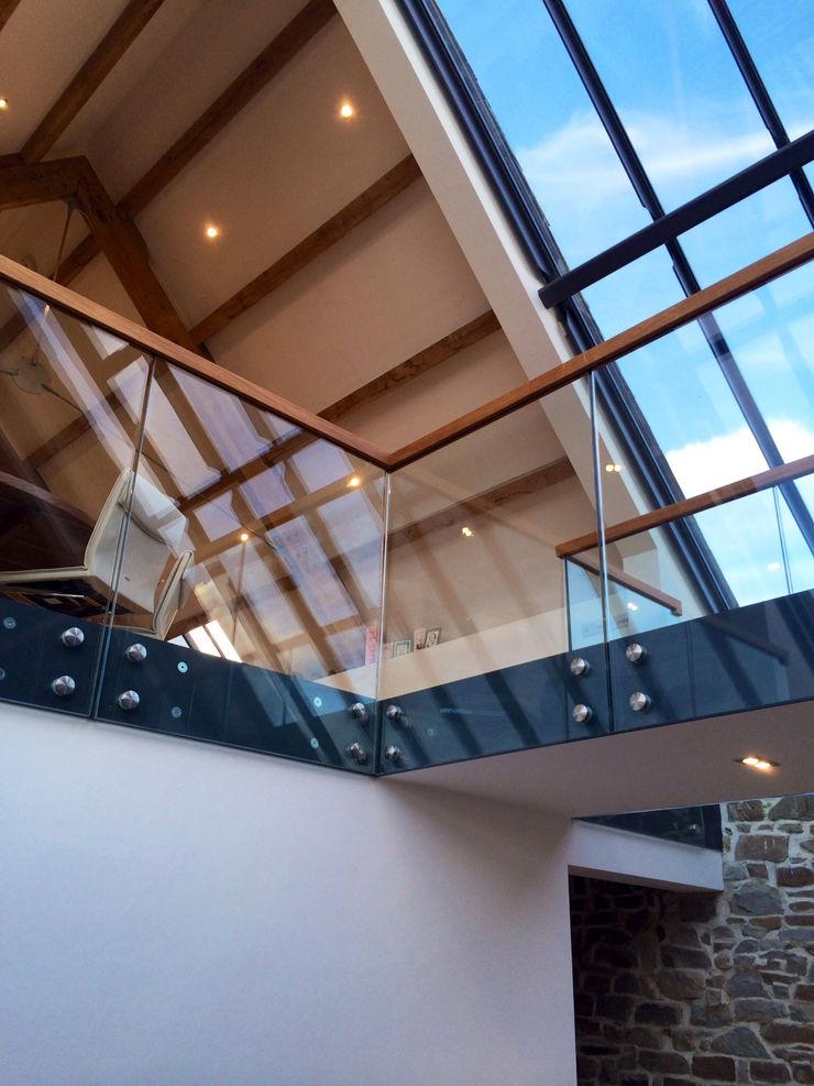 Bespoke Staircase Cornwall Complete Stair Systems Ltd Коридор, коридор і сходиСходи