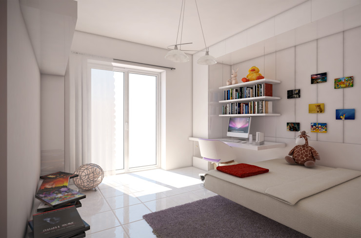 Camera da letto I-Render Camera da letto moderna