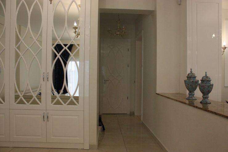AYAYAPITASARIM Rustic style corridor, hallway & stairs