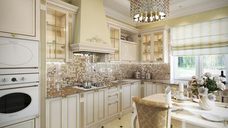 Мастерская дизайна ЭГО Classic style kitchen