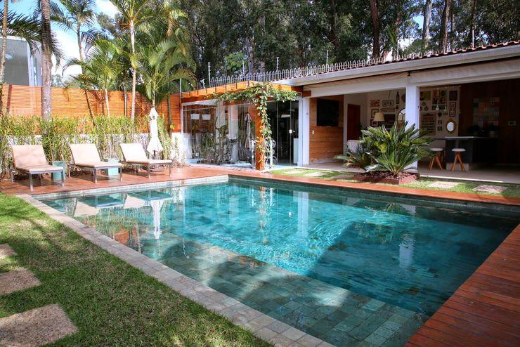 MeyerCortez arquitetura & design Moderne Pools