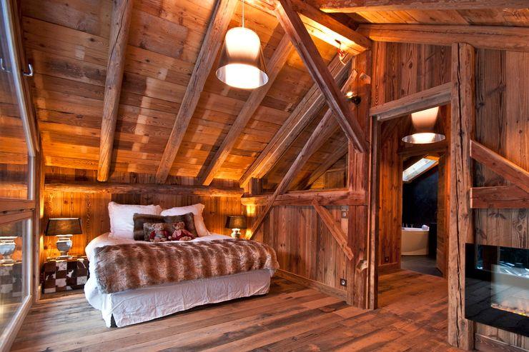 Chalet de Claude: chambre 5 shep&kyles design Chambre rurale