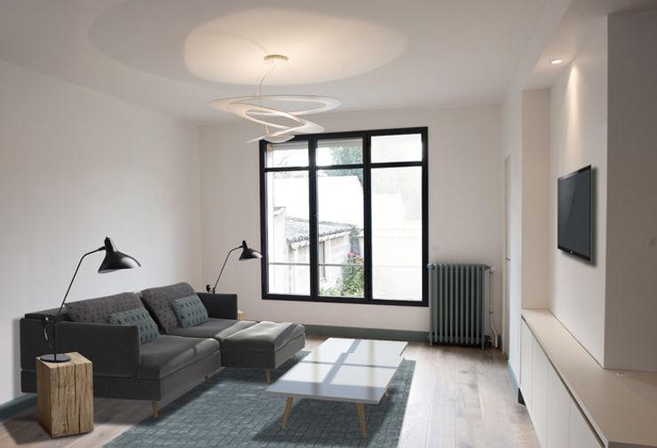 Yeme + Saunier Living roomSide tables & trays