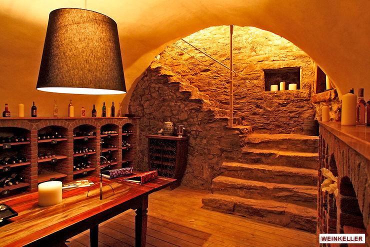 Architekturbüro Hans-Jürgen Lison Rustic style wine cellar