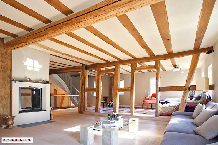 Architekturbüro Hans-Jürgen Lison Modern living room