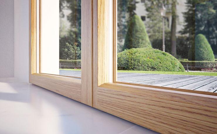 Qr legno srl Minimalist windows & doors