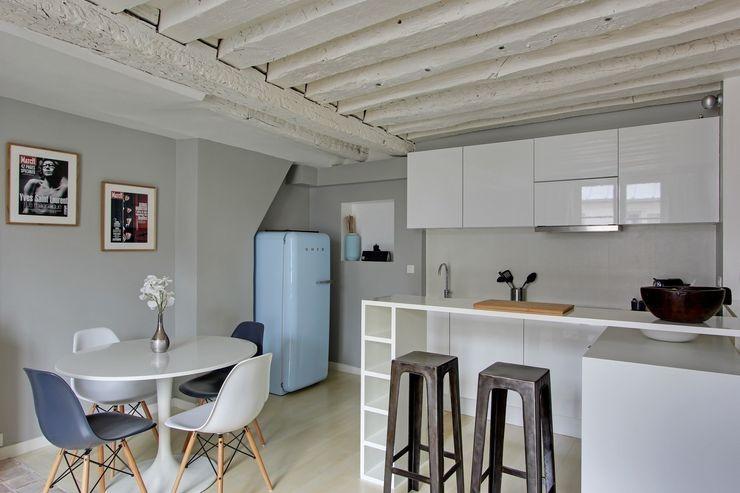 GALI Sulukjian Architecte Cocinas de estilo minimalista