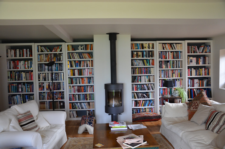 library Tim Jasper Country style living room