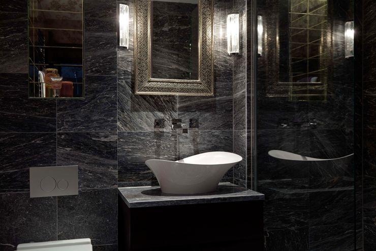 West End Apartment Nicola Holden Designs Modern bathroom