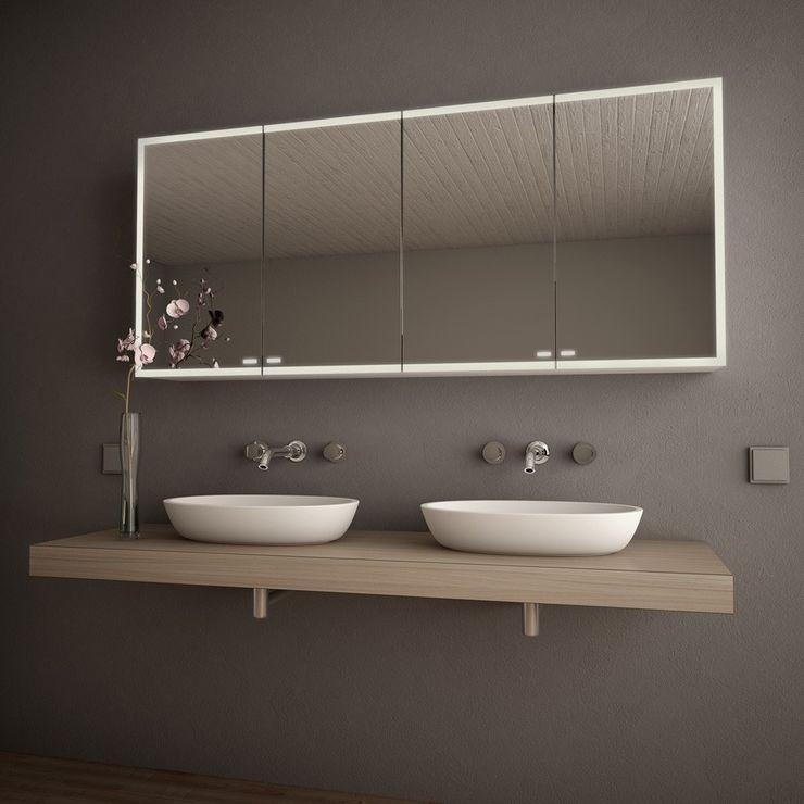 Spiegelschrank nach Maß mit LED 'Credo' Lionidas Design GmbH BadezimmerSpiegel