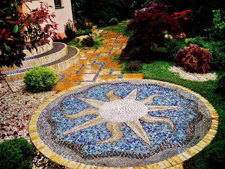 Mosaik Neues Gartendesign by Wentzel Mediterraner Garten