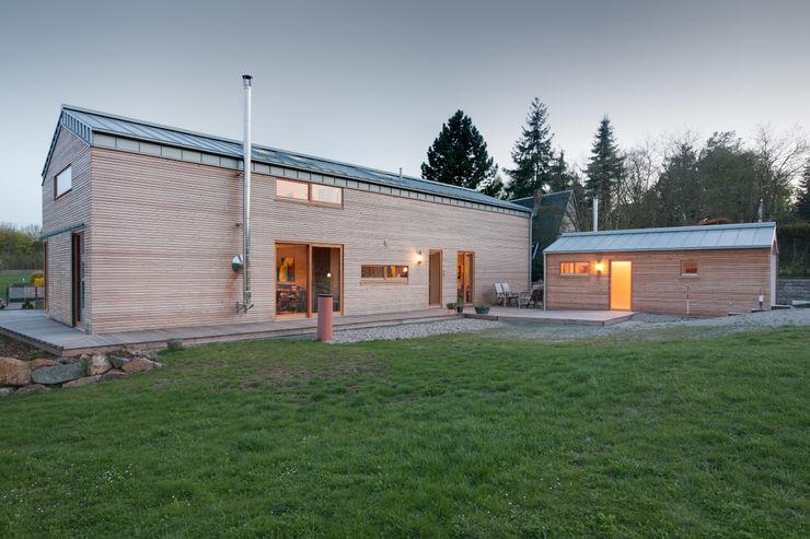 k² Architektur Wooden houses