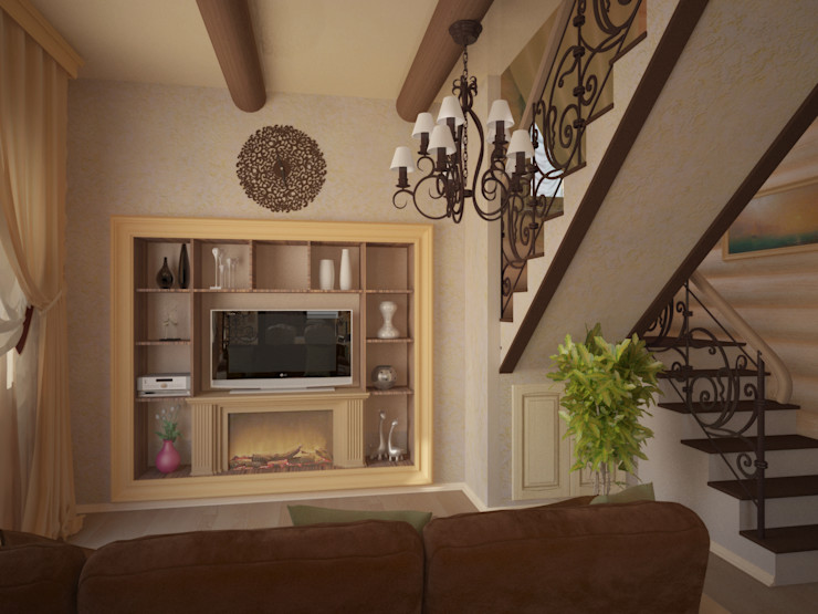Kalista Country style living room