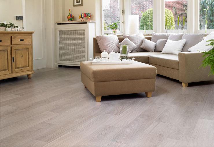 Bleached White Oak Quick-Step Parede e pavimentoRevestimentos de parede e pavimentos