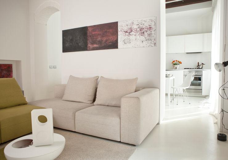 davide petronici   architettura Livings de estilo moderno