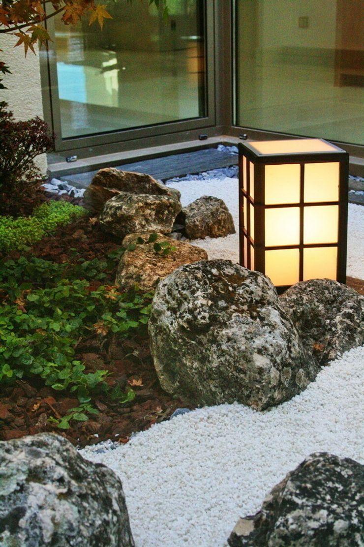 Jardin de invierno estilo zen Jardines Japoneses -- Estudio de Paisajismo Jardines de invierno de estilo moderno