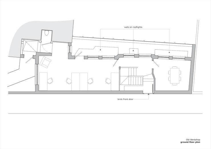 Old Workshop - ground floor plan Jack Woolley