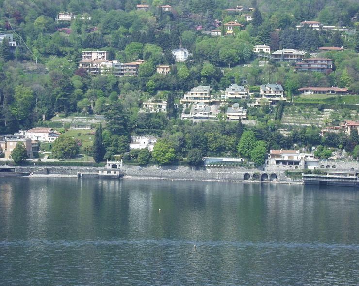 Villa Socotina – Lago di Como Archiluc's - Studio di Architettura Stefano Lucini Architetto Case classiche