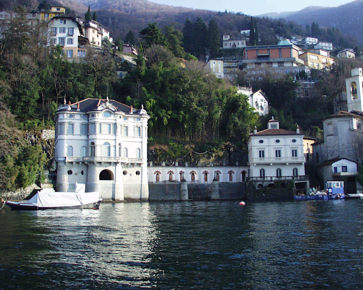 Villa Taglioni - Blevio Como Lake Archiluc's - Studio di Architettura Stefano Lucini Architetto Casas de estilo clásico