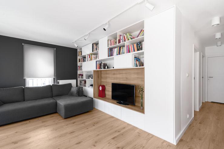 081 architekci Salon minimaliste