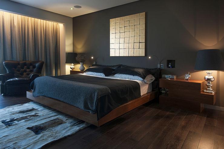 kababie arquitectos غرفة نوم