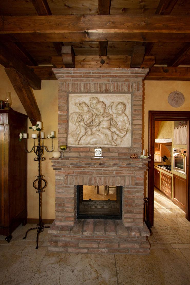 Interior Design Stefano Bergami Salones rústicos rústicos
