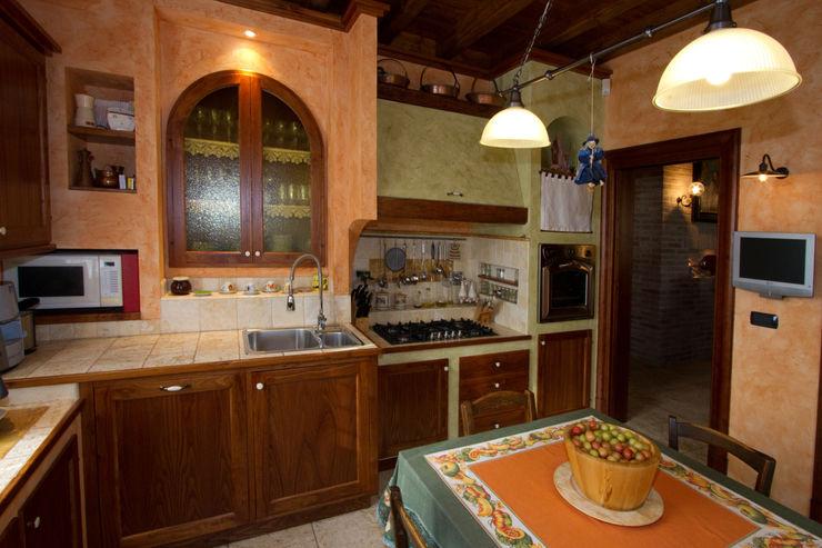 Interior Design Stefano Bergami Cocinas rústicas