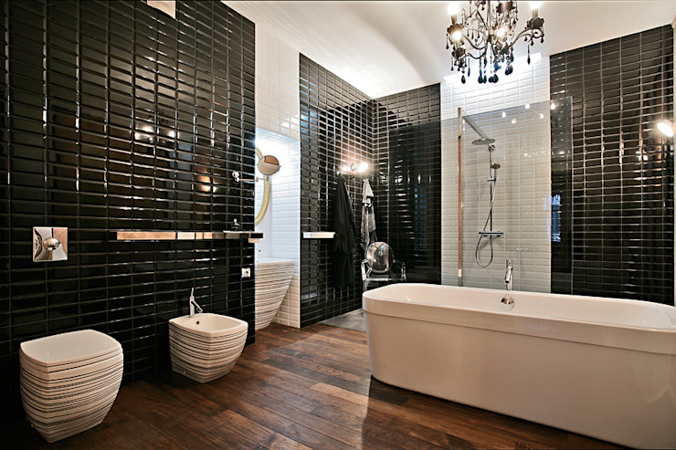 VNUTRI Eclectic style bathroom