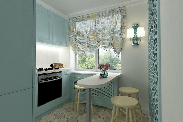 Алёна Демшинова Classic style kitchen