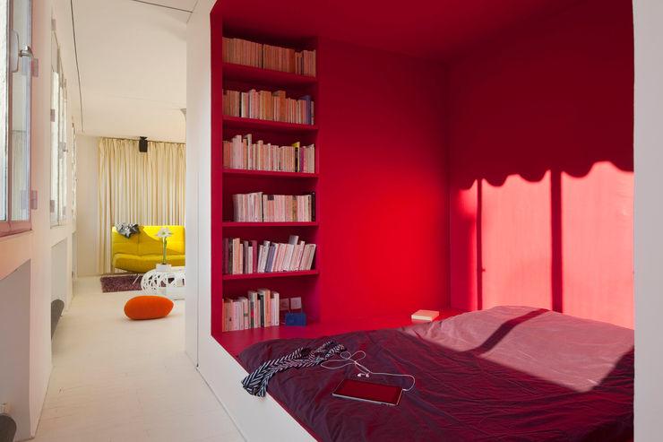 Appartement Manin au Buttes Chaumont Ramsés Salazar Architecte Chambre originale