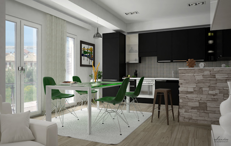 Santoro Design Render مطبخ