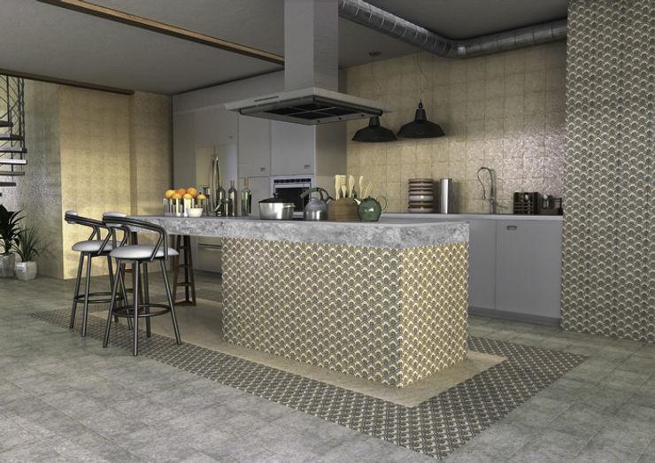 San Marco Decor Murano INTERAZULEJO Cocinas de estilo industrial