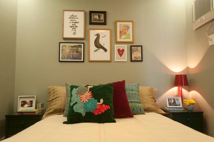 Details bedroom homify Quartos ecléticos