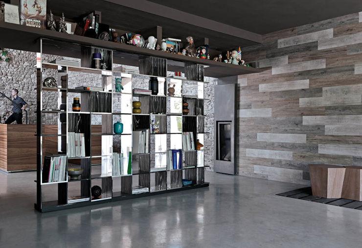 SUDOKU книжный шкаф CASAMANIA HORM FACTORY OUTLET ГостинаяПолки