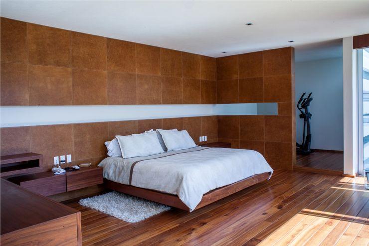 Recamara principal GRUPO VOLTA Dormitorios de estilo moderno