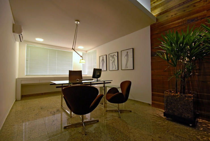 Neoarch Modern style study/office