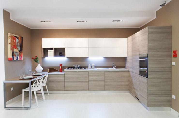 Cucina 3 Pansera Mobili Negozi & Locali commerciali in stile minimalista