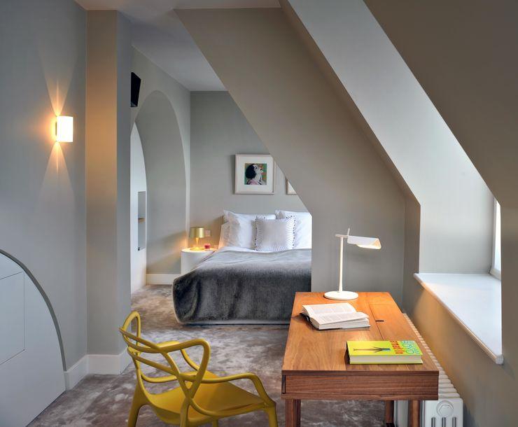St. Pancras Penthouse TG Studio Modern style bedroom